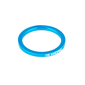 "KCNC Headset Spacer - 1 1/8"" 5mm bleu"
